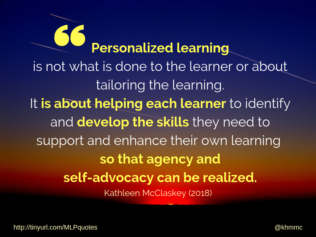 Personalized Learning...
